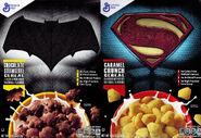 General Mills BvS cereal