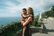 Young Diana and Hippolyta