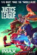 Justice League - IMAX - poster