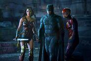 Batman, Wonder Woman, and Flash