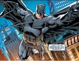 Batman swings away from apprehending Firefly