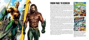 The Art and Making of Aquaman page