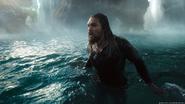 Arthur surfaces in the Hidden Sea promotional still
