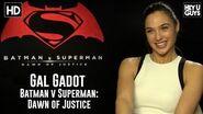 Gal Gadot Exclusive Interview - Batman vs