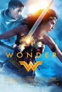 Wonder Woman theatrical release poster