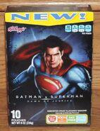 Kellogg's BvS fruit snacks Superman