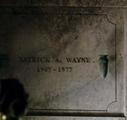 Patrick A Wayne grave