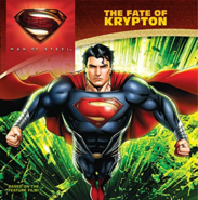 Man of Steel The Fate of Krypton cover