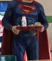 Superman in Fawcett Central School