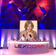 Lex Luthor stage from BvS trailer party