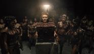 Amazons surrounding a Mother Box (ZSJL)