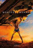Wonder Woman - Lifts Tank - Poster