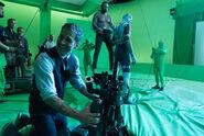 JL-BTS - Zack Snyder and Jason Momoa on set-2