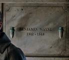 Benjamin Wayne grave