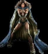 Wonder Woman with her sword concept art