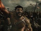 Zeus cheers as Darkseid's forces retreat