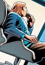 Lex Luthor spying on Batman taking down Firefly