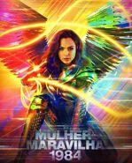 Wonder Woman 1984 Brazilian Movie Poster
