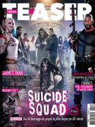 Cinema Teaser - Suicide Squad June 2016 variant cover - Task Force X