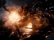 ZSJL - Wonder Woman fighting Parademons