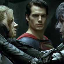 MoS-Lois, Superman and Faora in Zod's ship.jpg
