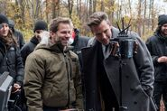 BvS-BTS - Zack Snyder and Ben Affleck on set