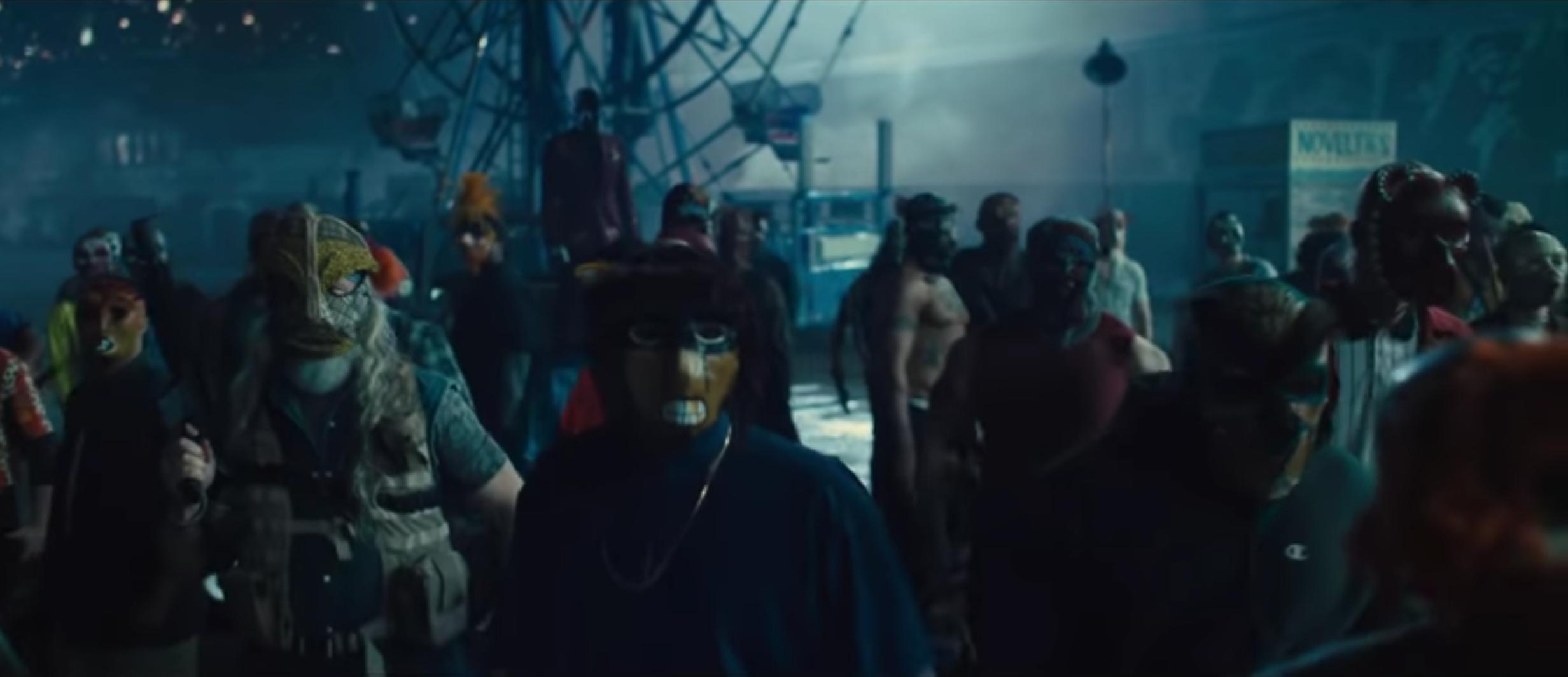Black Mask's criminal organization