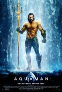 Aquaman theatrical poster - Arthur Curry