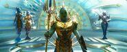 Aquaman - Fishermen kingdom