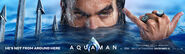Aquaman banner - He's Not From Around Here