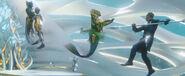 Aquaman - Orm kills Fisherman king