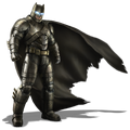 Armored Batsuit concept art