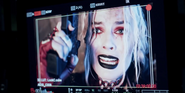 Harley in camera - The Suicide Squad BTS