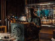 Silas inspects the Mother Box - ZSJL