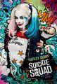Harley Quinn comic character poster