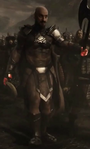 Ares without a helmet during the Invasion of Earth
