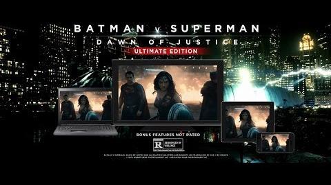 "Batman v Superman Ultimate Edition - ""Battle"""