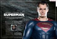 Batman v Superman - Superman Spread