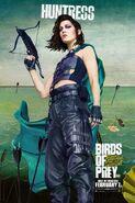 Birds of Prey Charakterposter Huntress
