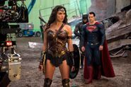 Dreharbeiten Batman V. Superman 18