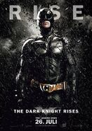 The Dark Knight Rises Charakterposter Batman