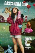 Birds of Prey deutsches Charakterposter Cassamdra Cain