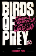 Birds of Prey Teaserposter 2