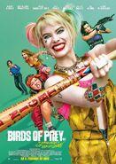 Birds of Prey deutsches Kinoposter 2