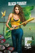 Birds of Prey deutsches Charakterposter Black Canary