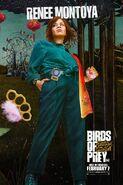 Birds of Prey Charakterposter Renee Montoya