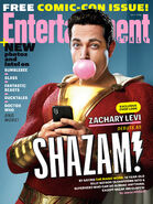 Entertainment Weekly Shazam Cover