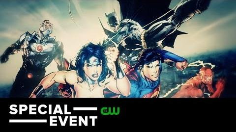 Special Dawn of the Justice League Geoff Johns and Kevin Smith Trailer The CW