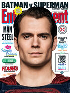 Batman v Superman Dawn of Justice - Entertainment Weekly Cover Superman
