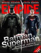 Batman V Superman Empire Cover